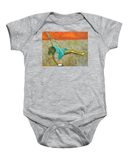 Canyon Road Sculpture Baby Onesie