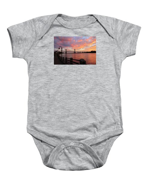 Cape Fear Bridge Baby Onesie