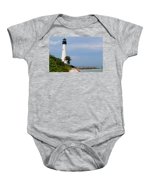 Cape Florida Beach Baby Onesie