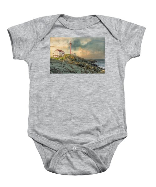 Cape Forchu  Baby Onesie