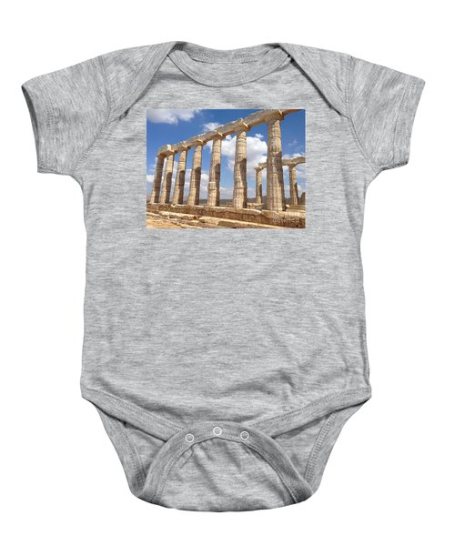 Cape Sounion Baby Onesie
