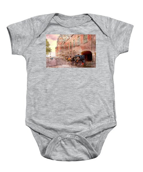 Carriage Ride In Canada 07 Baby Onesie