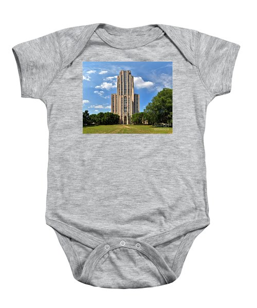 Cathedral Of Learning Pittsburgh Pa Baby Onesie