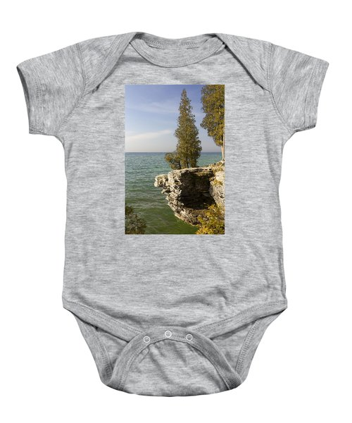 Cave Point - Signed Baby Onesie