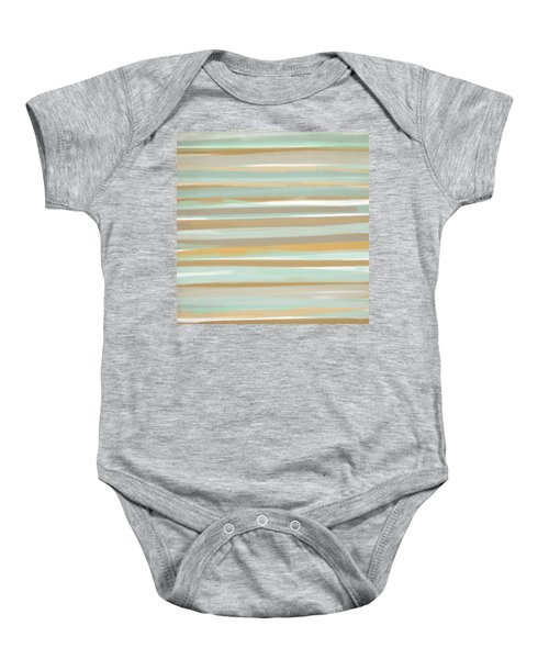 Champagne And Gold Baby Onesie
