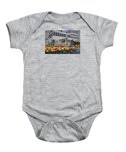 Chicago At Spring Time Baby Onesie