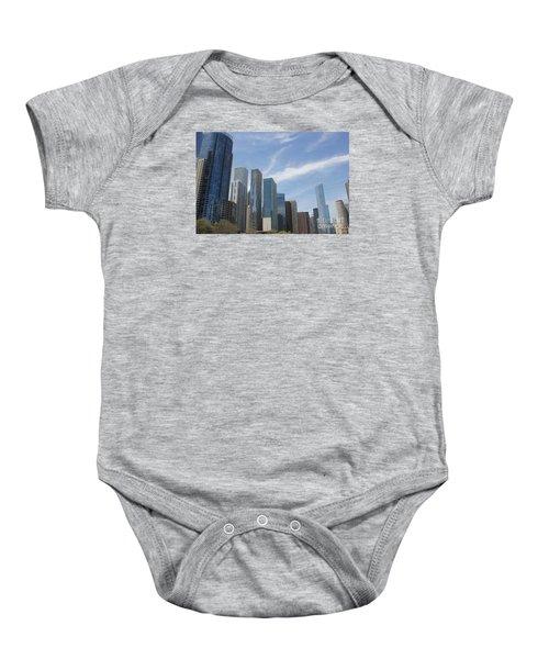 Chicago Skyscrapers Baby Onesie