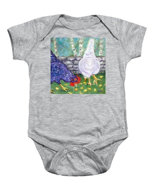 Chicken Neighbors Baby Onesie