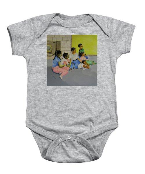 Children's Attention Span  Baby Onesie