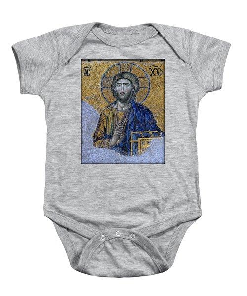 Christ Pantocrator -- Hagia Sophia Baby Onesie