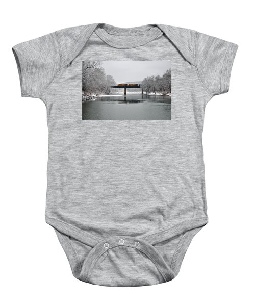 Christmas Coal Baby Onesie