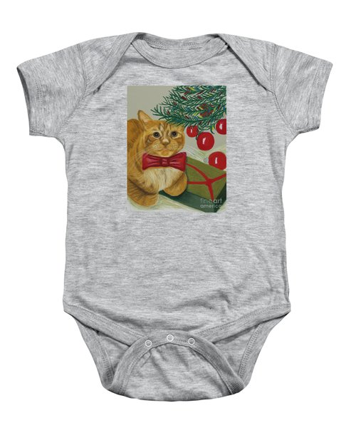 Christmas With Rufus Baby Onesie