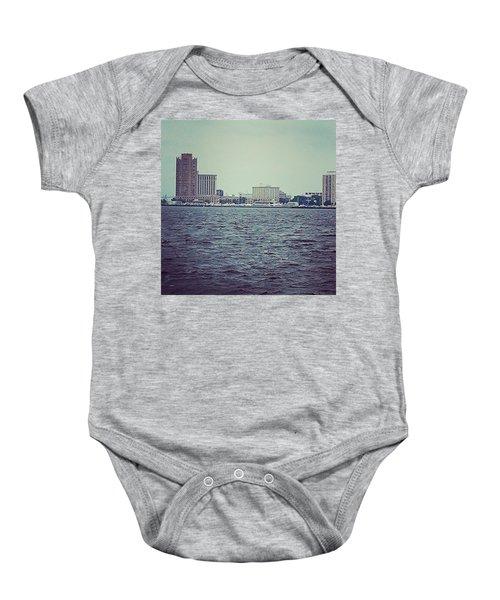 City Across The Sea Baby Onesie