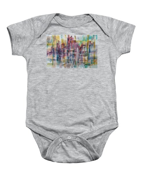 City Reflections Baby Onesie