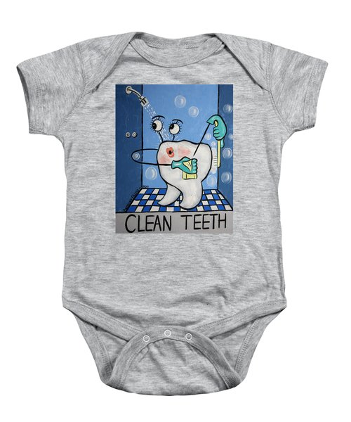 Clean Tooth Baby Onesie
