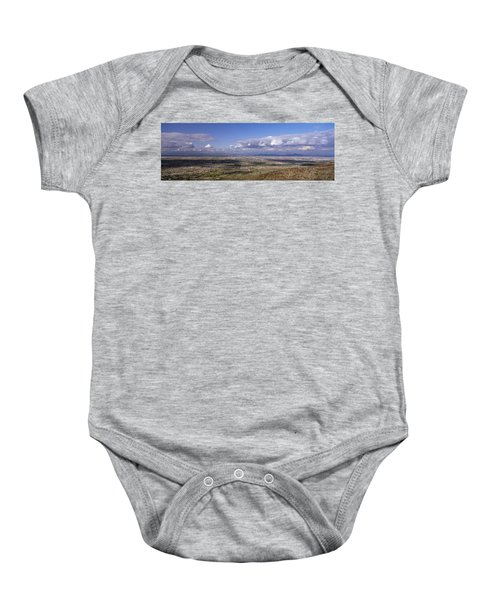 Clouds Over A Landscape, South Mountain Baby Onesie