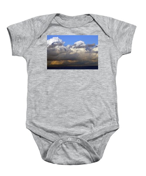 Clouds Over Portsmouth Baby Onesie