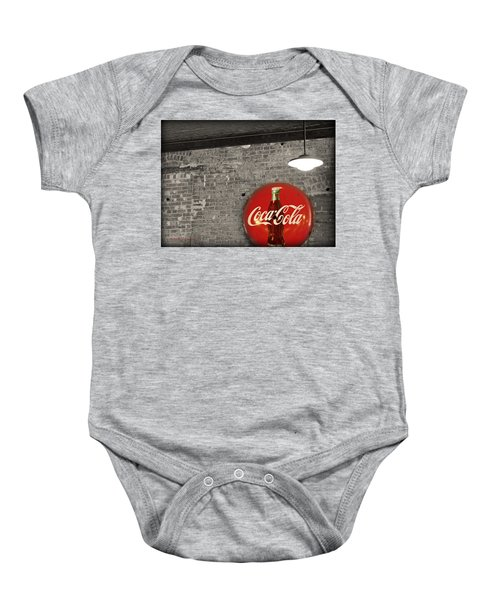 Coke Cola Sign Baby Onesie