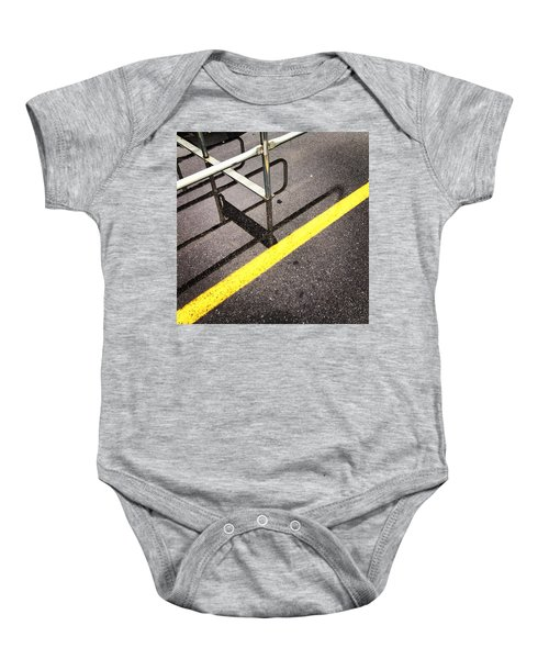 Cold Morning Shopping Baby Onesie