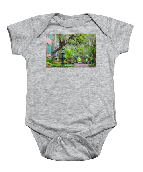 College Of Charleston Baby Onesie