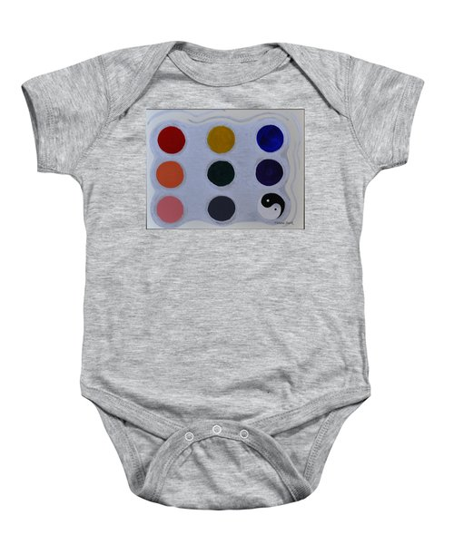 Color From The Series The Elements And Principles Of Art Baby Onesie