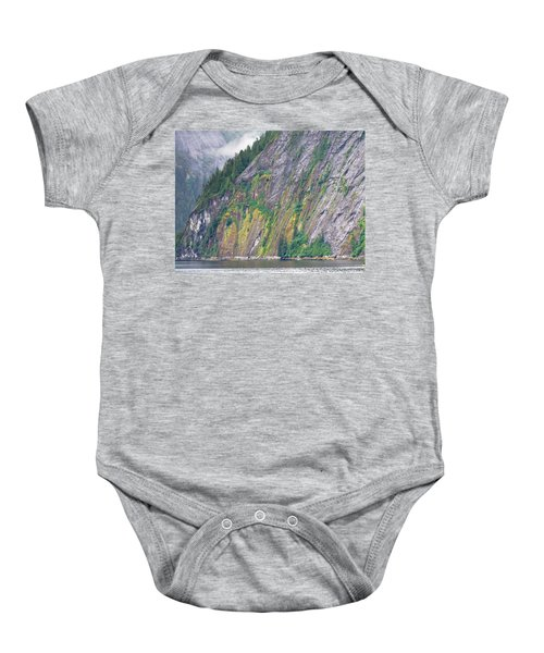 Colors Of Alaska - Misty Fjords Baby Onesie