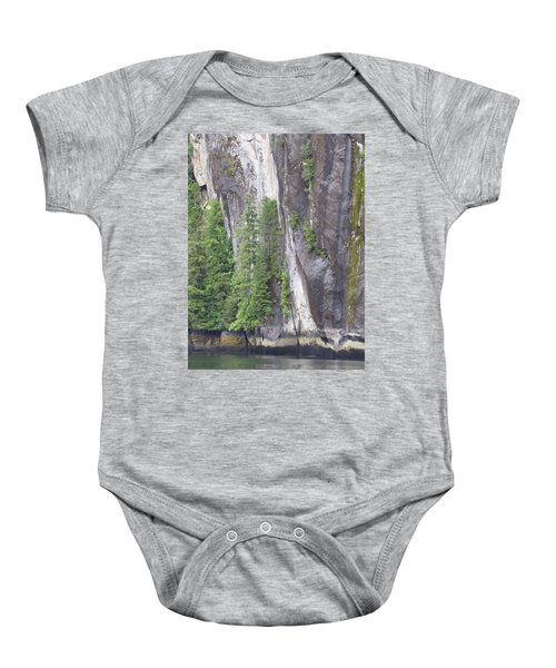 Colors Of Alaska - More From Misty Fjords Baby Onesie