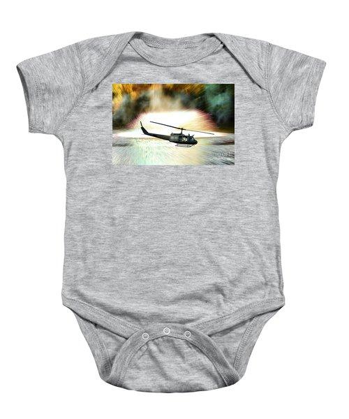 Combat Helicopter Baby Onesie
