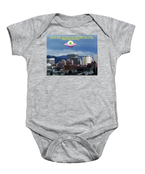 Contact With A Dead Planet 2 Baby Onesie