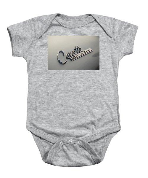 Corvette Sting Ray Baby Onesie