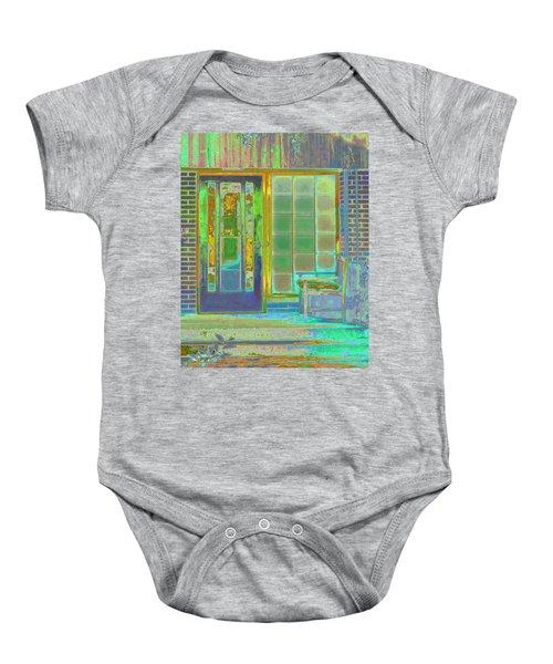 Cottage Porch Baby Onesie