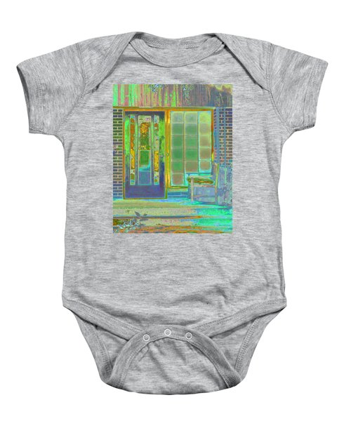 Cottage Porch Baby Onesie