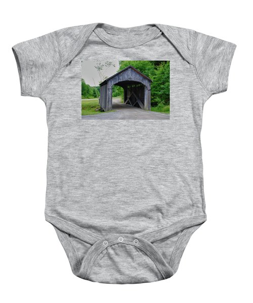 Country Store Bridge 5656 Baby Onesie