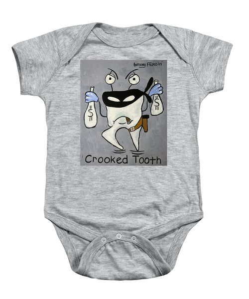 Crooked Tooth Baby Onesie