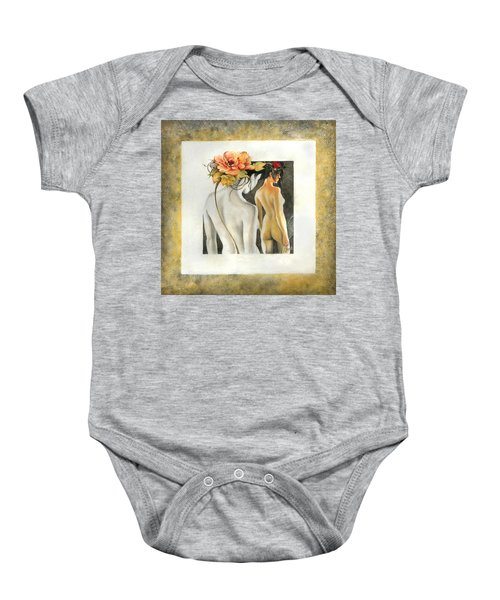 Crossing To The Another Side Of The  Shadow Baby Onesie