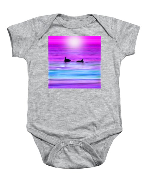 Cruisin' Together Baby Onesie