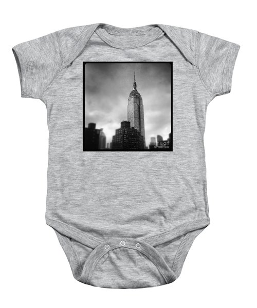 Crushed Twice Baby Onesie