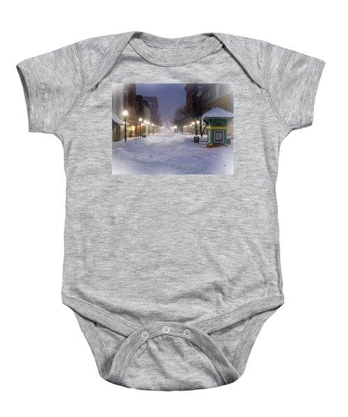Cumberland Winter Baby Onesie