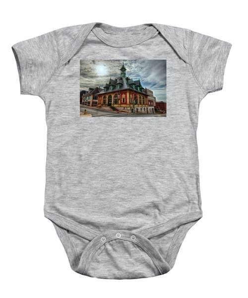 Customs House Museum Baby Onesie