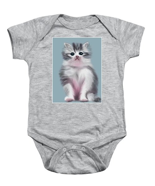 Cute Kitten Baby Onesie