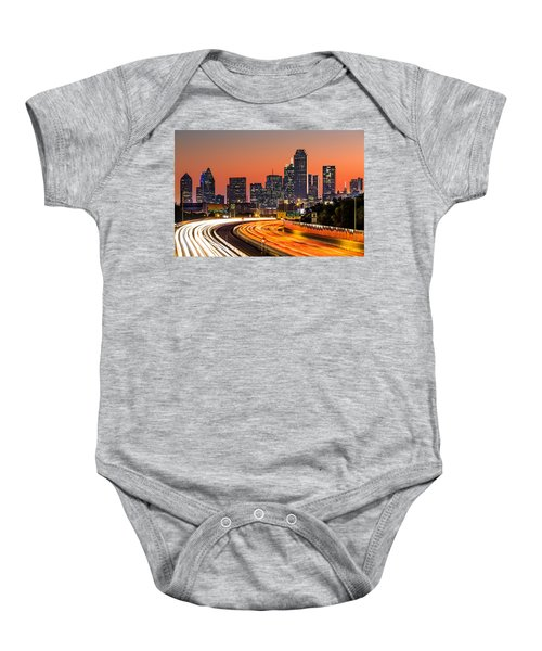 Dallas Sunrise Baby Onesie