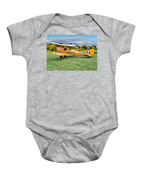 De Havilland Dh82 Tiger Moth Baby Onesie