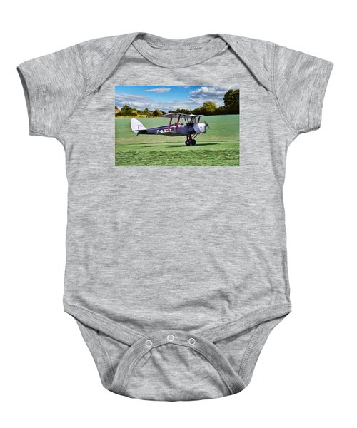 De Havilland Tiger Moth Baby Onesie