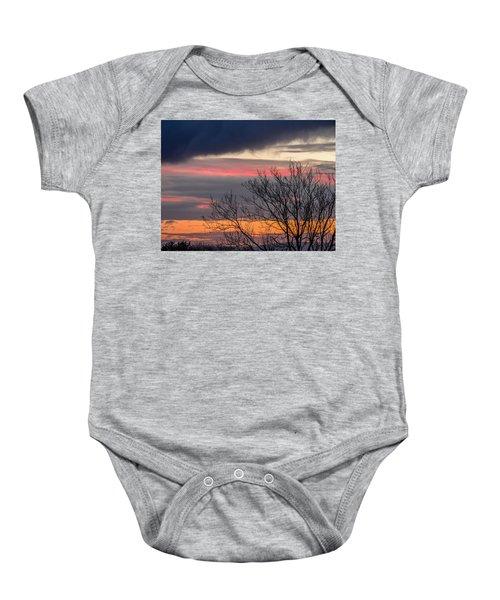 December County Clare Sunrise Baby Onesie