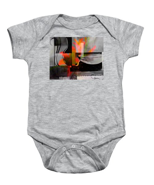 Decorative Design Baby Onesie