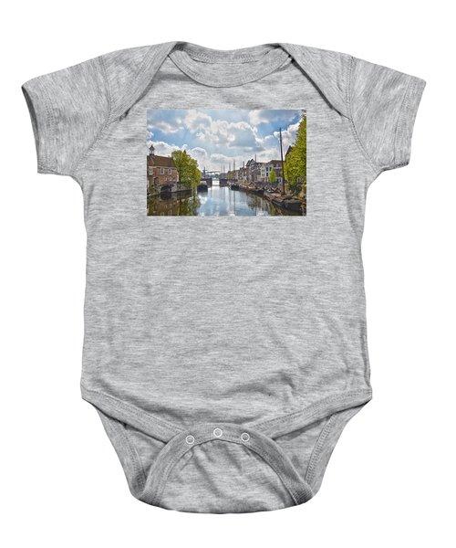 Delfshaven Rotterdam Baby Onesie