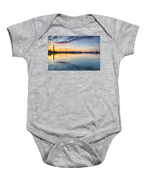 Baby Onesie featuring the photograph Democracy Awakens by Sebastian Musial
