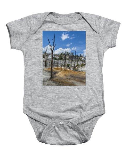 Desolation Yellowstone National Park Baby Onesie
