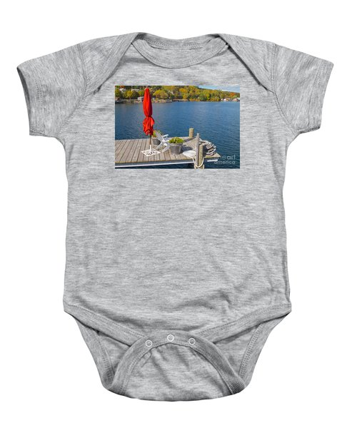 Dock By The Bay Baby Onesie