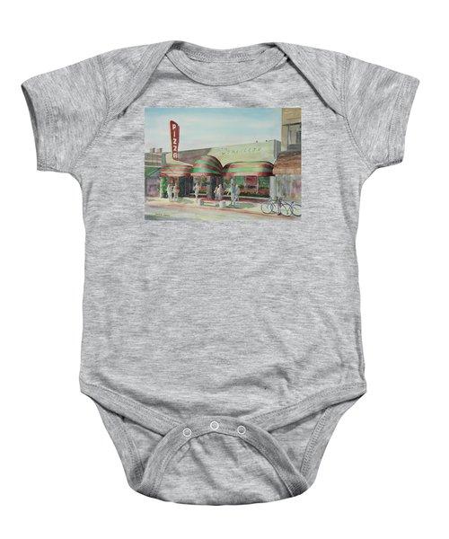 Domenicos In Long Beach Baby Onesie